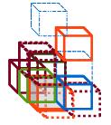 rangées d'arcades triangles